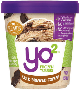 Yo2 Frozen Yogurt Cold Brewed Coffee  (pint)