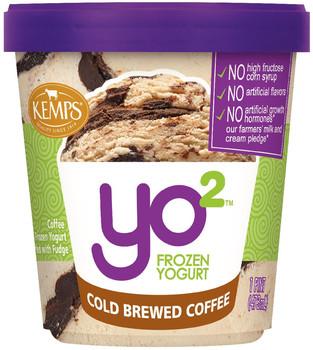 Yo2 Frozen Yogurt Cold Brewed Coffee (pint)