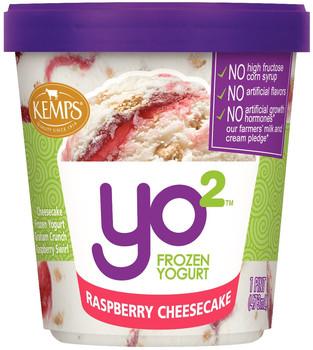 Yo2 Frozen Yogurt Raspberry Cheesecake  (pint)