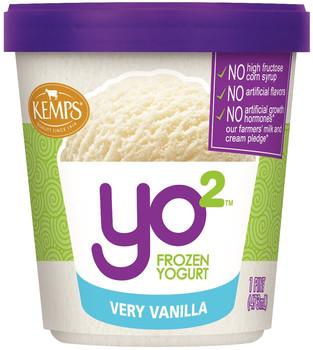 Yo2 Frozen Yogurt Very Vanilla  (pint)
