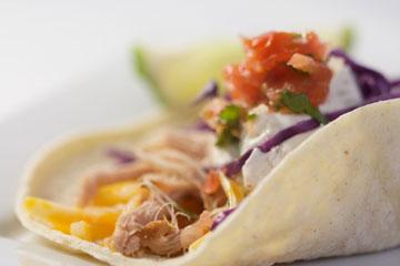 Pulled Pork Soft Tacos
