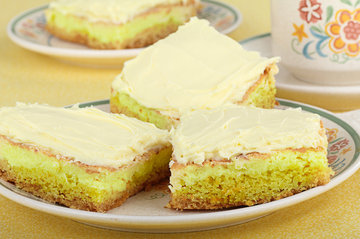 Sour Cream Lemon Squares