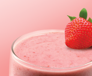 Protein Power Strawberry Smoothie