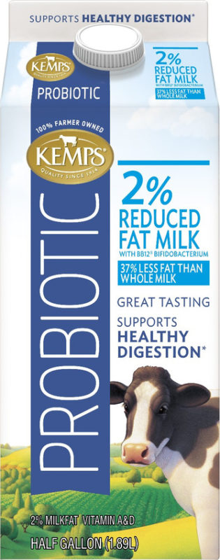 Probiotic 2% Milk (Half Gallon)