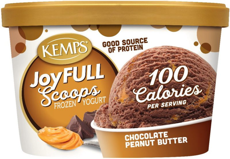 JoyFULL Scoops Frozen Yogurt, Chocolate Peanut Butter (1.5qt.)