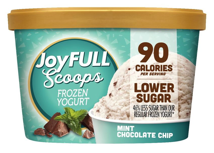 Mint Chocolate Chip Frozen Yogurt Calories