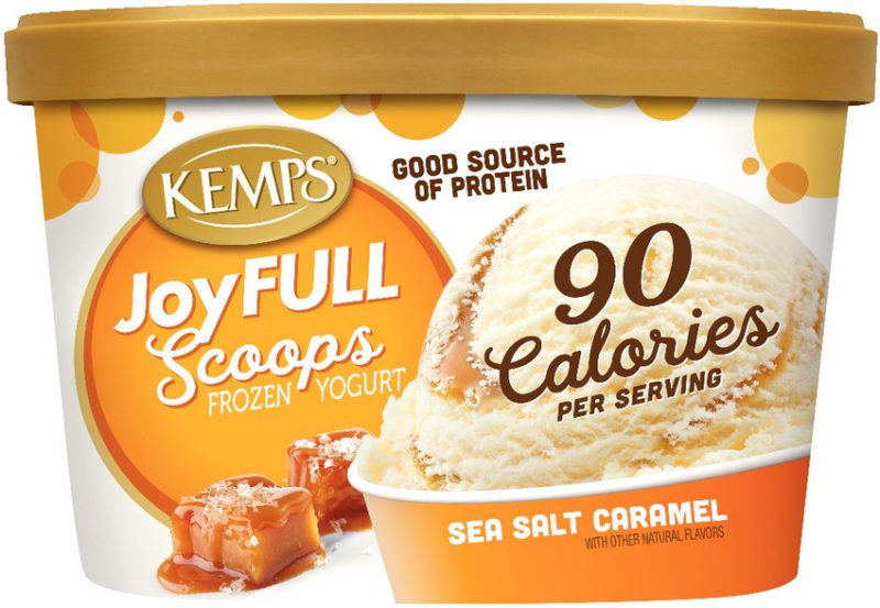 JoyFULL Scoops Frozen Yogurt – Sea Salt Caramel (1.5qt.)