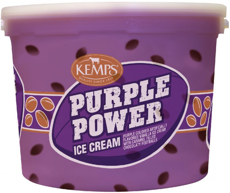 (132 oz. Pail) Purple Power Ice Cream
