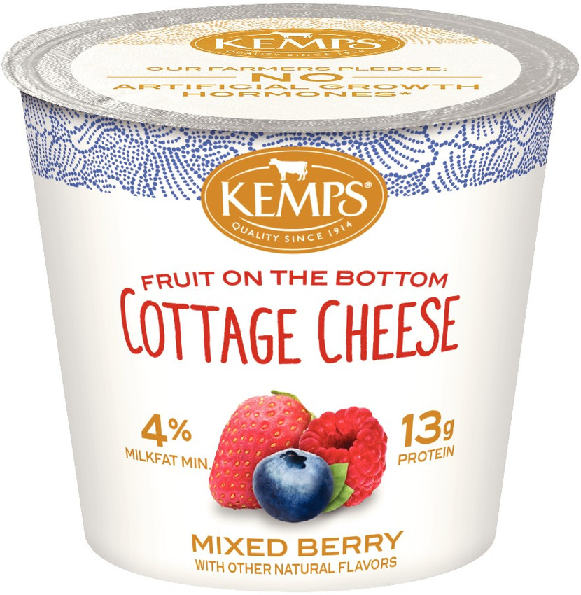 Cottage Cheese Single Mixed Berry 5 3 Oz Kemps