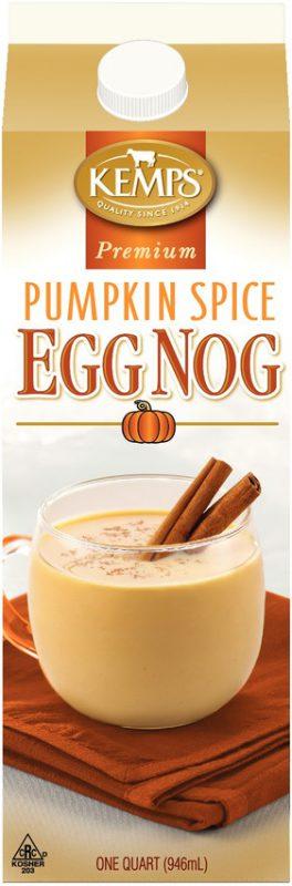 Premium Pumpkin Spice Egg Nog (paper quart)