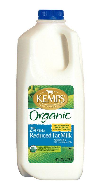 Organic 2% Milk (Plastic Half Gallon)