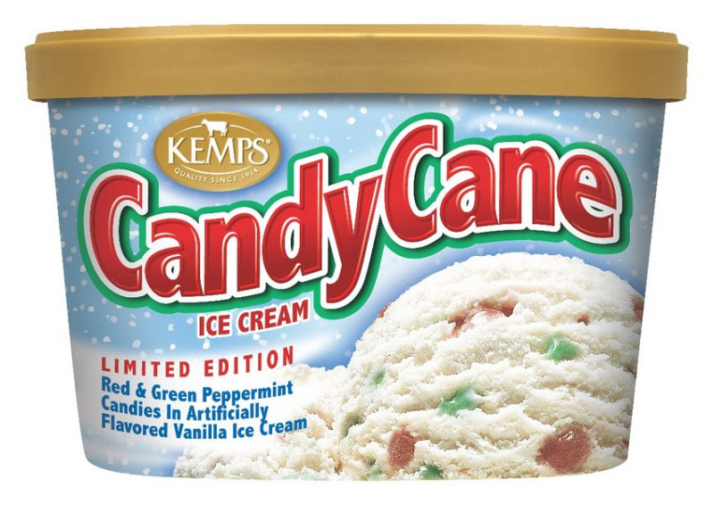 (1.5 qt) Candy Cane Ice Cream
