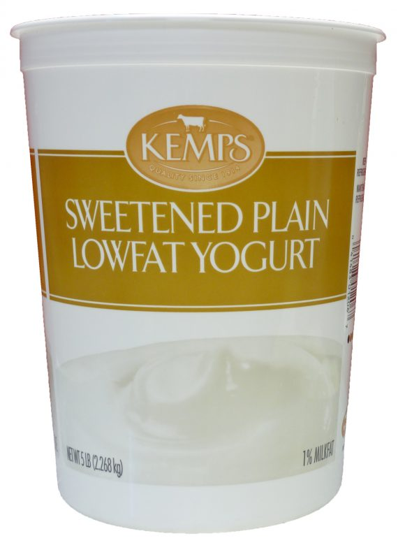 Plain Unsweetened Lowfat Yogurt 5lb