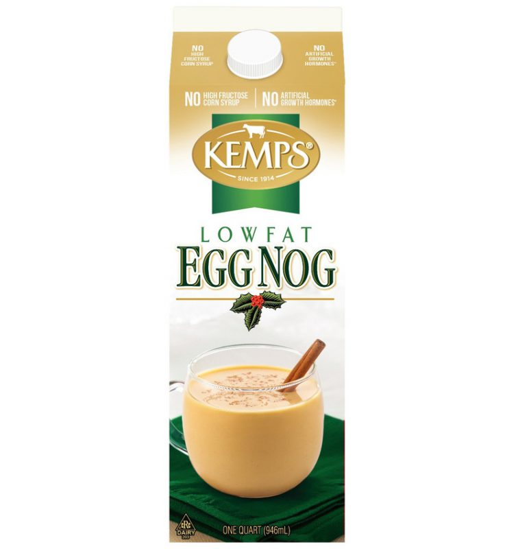 Lowfat Egg Nog Quart