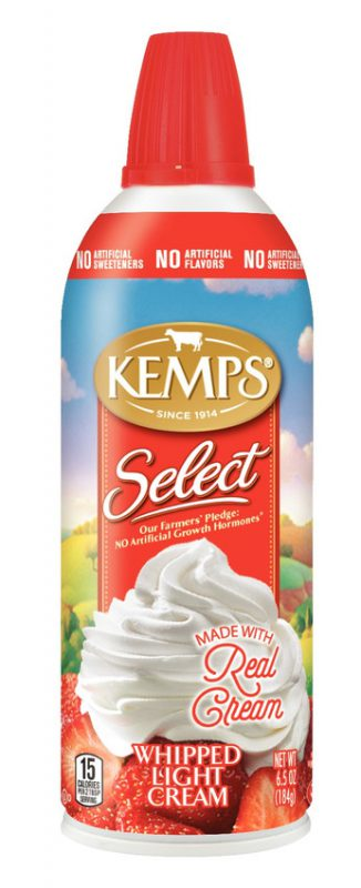 Kemps Aerosol Whipping Cream 6.5oz.